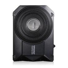Автомобильный аудио преобразования Тонкий активный ультра-тонкий супер сильный автомобильный сабвуфер бас-Динамик Встроенный 250 Вт усилитель высокой мощности