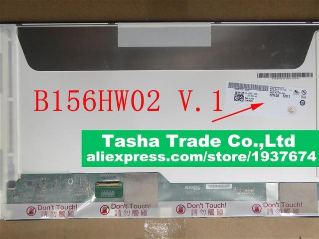 AU Optronics B156HW02 V.1 B156HW02 V1 LCD Laptop Screen Replacement 1920*1080 FHD Panel LVDS 40 PINS Original