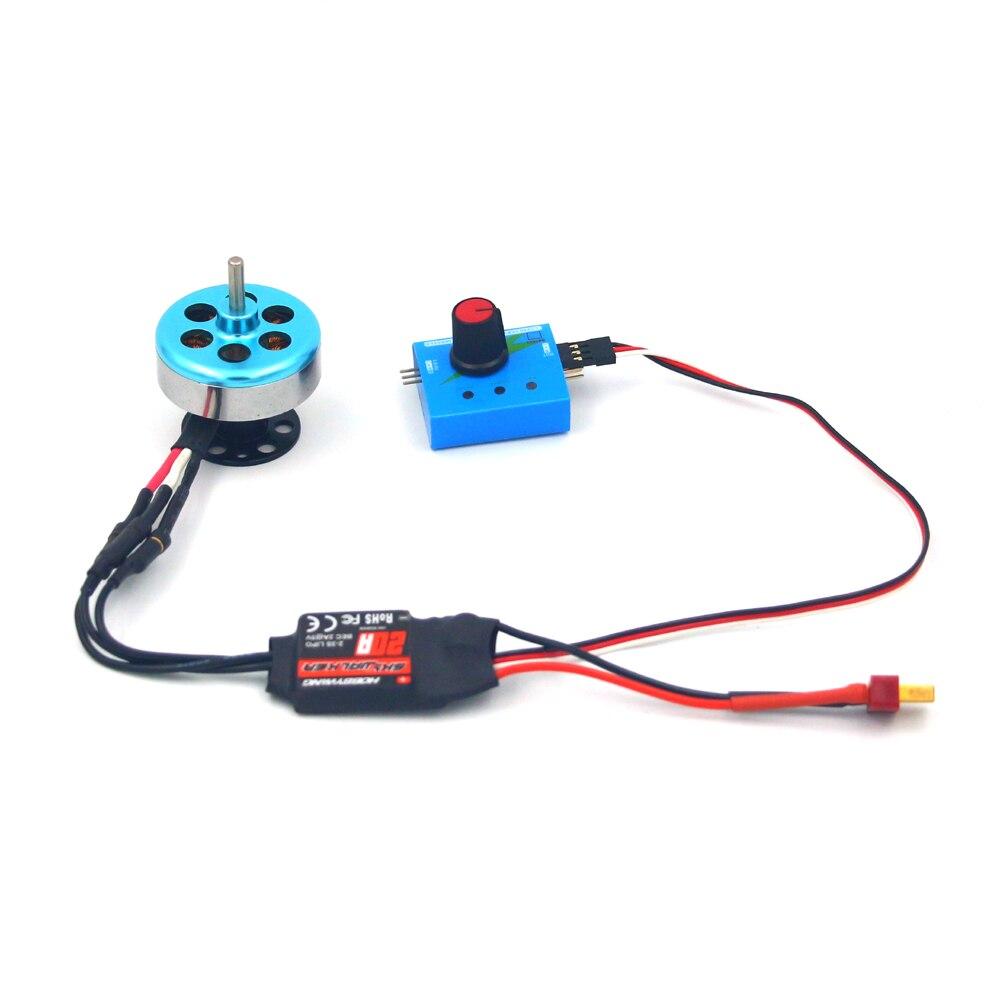 4014 Dc 4v-11.1v 40 * 37.5mm Brushless Motor Remote Control Car / Diy