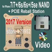 2017 Версия PCIE NAND Flash Чип Программист Инструмент Наборы Машина Fix Ремонт hdd ic серийный номер для iphone 5se 6 s 7 плюс ipad pro