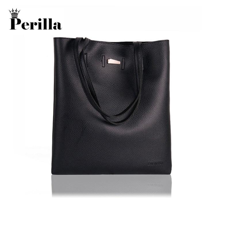 Perilla Brand Women BagsHigh Quality PU Leather Messenger Shoulder Handbags Designer Luxury Fashion Bolsa Female Bags
