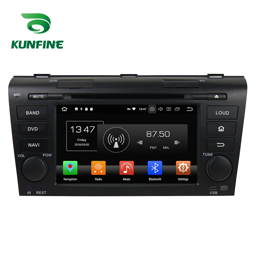Octa Core 4GB RAM Android 8.0 Car DVD GPS Navigation <font><b>Multimedia</b></font> Player Car Stereo for <font><b>MAZDA</b></font> <font><b>3</b></font> 2004-2009 Radio Headunit WIFI image