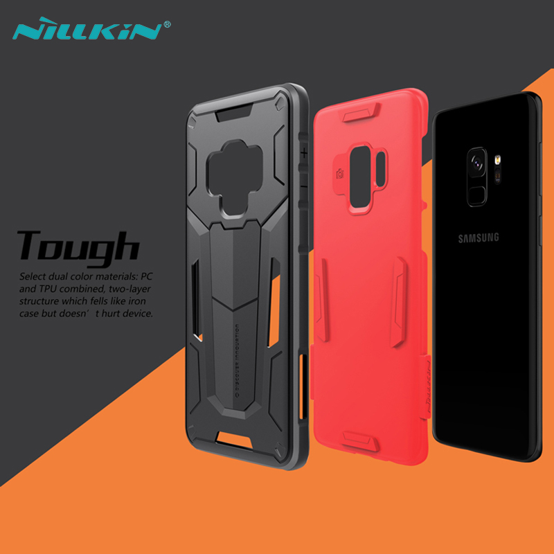 For Samsung Galaxy S9 Case Samsung S9 Plus Cover Nillkin Defender 2 Ultra Slim Armor TPU PC Phone Back Cases For Galaxy S9 in Fitted Cases from Cellphones Telecommunications