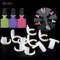 50 шт. УФ-гель цветной дисплей, кольцо для дизайна ногтей, накладные наконечники на дисплее для ногтей, инструменты для художественного украш...