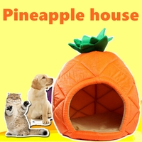 [MPK Store] Pet Pineapple Bed, Small Dog House, Kennel, Cat Bed, Cat House