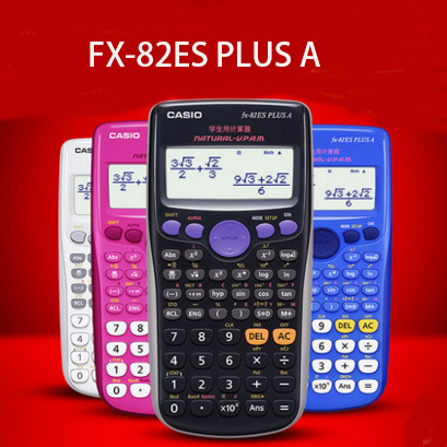 student Plus Scientific font b Calculator b font Dual Power With FX 82ES PLUS A Calculadora