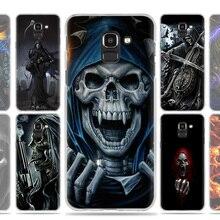 Grim Reaper Skull Skeleton Case Cover for Samsung Galaxy J7 J5 J8 J6 J4 J3 J2 Plus Prime 2017 2018 2016 J8+ J6+ J4+ Fundas Coque