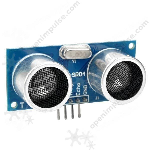 Ultrasonic HC-SR04 Distance Measuring Sensor  (Arduino Compatible)