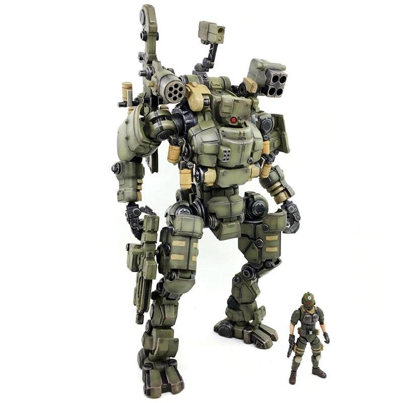 Juguete JOY 1:27 figura de acción robot soldado militar conjunto de la tercera generación un juguete de regalo de cumpleaños (embalaje Simple) RE009-in Figuras de juguete y acción from Juguetes y pasatiempos    2