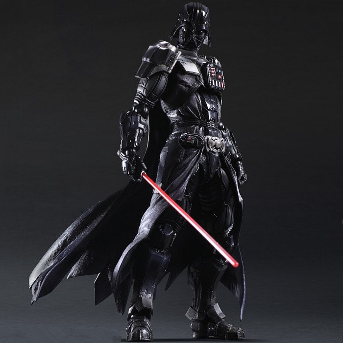 Chanycore Star Wars:The Force Awakens Darth Vader 28cm Action Figure Collection Model For Kid Gifts 1064 new hot star wars 7 the force awakens kylo ren pvc action figure collectible model toy 16cm