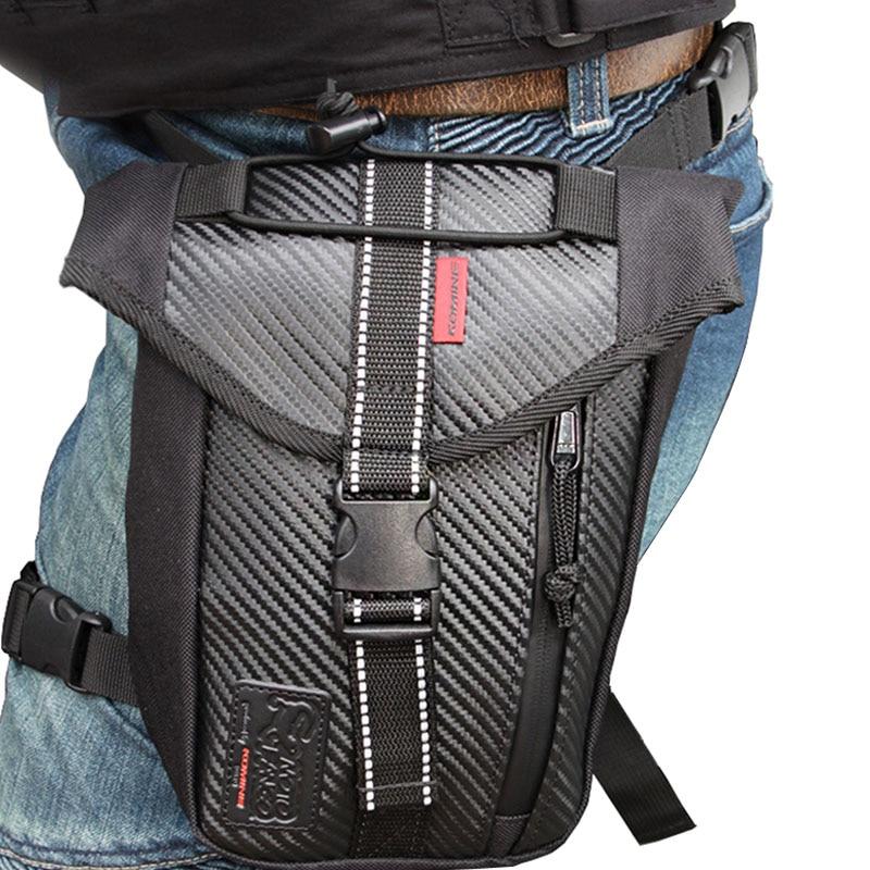 Men's Waterproof Drop Leg Bag Multi-Purse Fanny Pack Waist Thigh Hip Bum Belt Motorcycle Military Tactical For Travel Riding Bag