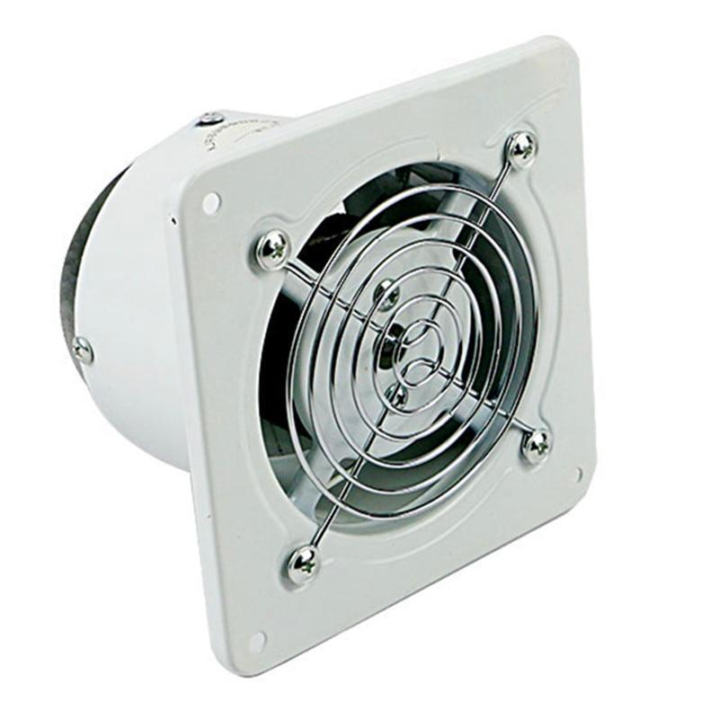 4 inline duct fan ventilator metal pipe ventilation fan high speed exhaust fan mini extractor 100mm Pipe extractor цена