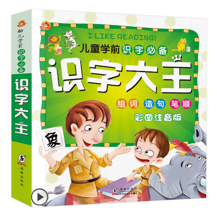 Learn To Read Chinese Characters Dictionary Learning Language Tool Books / Children Educational Books With Pin Yin And Pictures