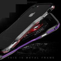 High Quality Luxury Original Brand LUPHIE Aluminum Metal Bumper For Iphone 7 7 Plus Case Incisive