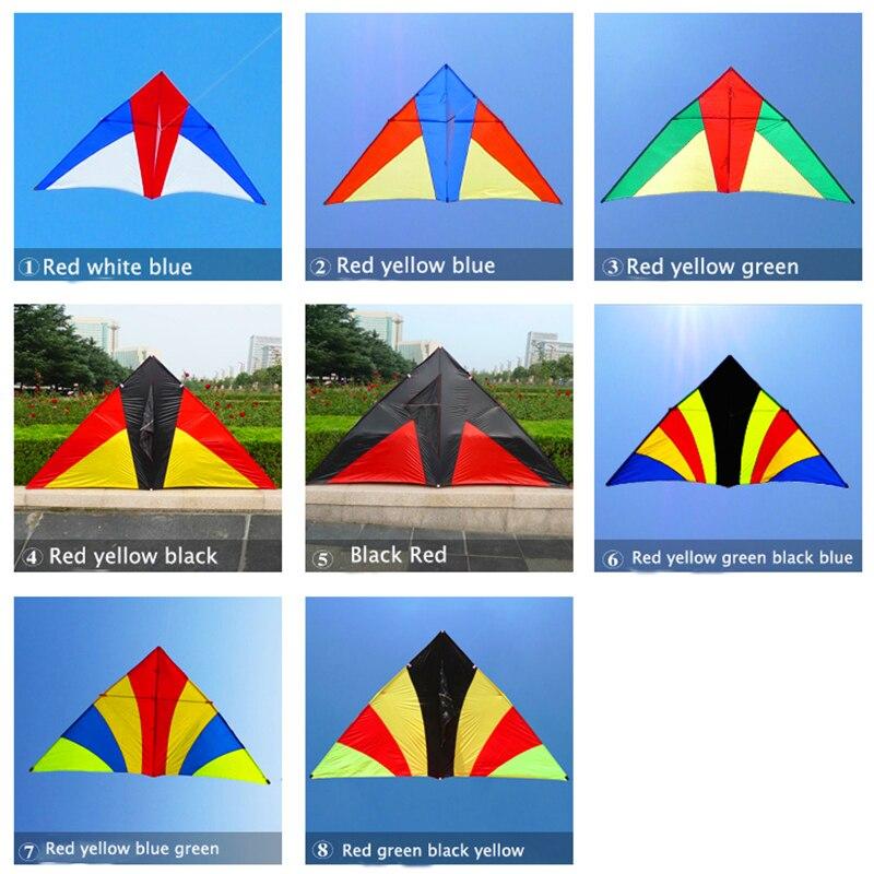 Livraison gratuite de haute qualité 3-4 mètres carrés delta cerf-volant ligne électrique cerf-volant volant parapente ripstop nylon désert aigle