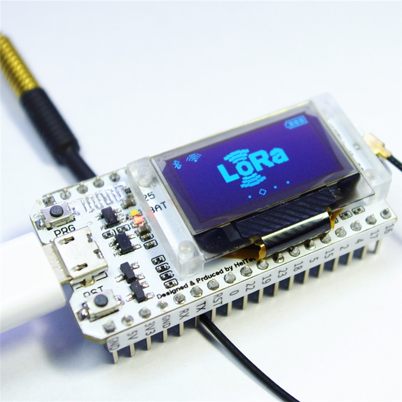 ESP32 SX1278 LoRa 0.96 Inch Blue OLED Display <font><b>Bluetooth</b></font> WIFI Lora Kit 32 Module <font><b>IOT</b></font> Development Board for Arduino w/Antenna