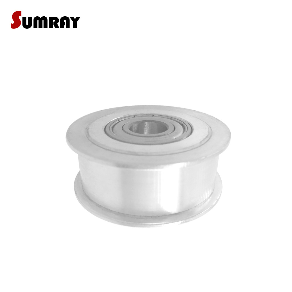 SUMRAY 3M 36T Idler Pulley Bore 5/6/8/10/12/15mm Tooth Belt Idler Pulley 11/16mm Belt Width NO Teeth Passive Pulley Wheel цены онлайн