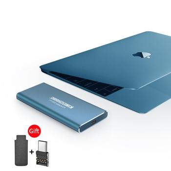 Portable SSD MSATA To Type-c 128GB 256GB 512GB 1TB External Solid State Drive HDD externo ssd drives desktop T5