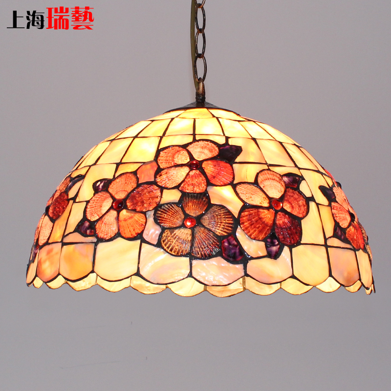 Tiffany Mediterranean style natural shell Pendant Lights lustres night light led lamp floor bar home lighting Free shippingTiffany Mediterranean style natural shell Pendant Lights lustres night light led lamp floor bar home lighting Free shipping