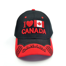 New Canada baseball cap embroidery I love snapback hat adjustable cotton casual sports hats
