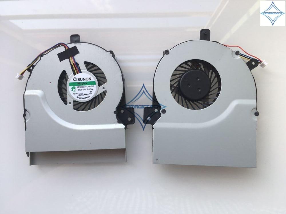 OEM asus K55 K55A K55X K55V K55VD X55 X55A X55U X55C MF60090V1 C170 S99 MF60090V1 C480 S99 ノートパソコンの cpu 冷却ファン  グループ上の パソコン & オフィス からの ファン & 冷却 の中 1