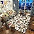 SunnyRain 1 шт. флисовые деревенские дизайнерские коврики и ковры для гостиной  коврик для кухни  коврик для спальни  нескользящий коврик