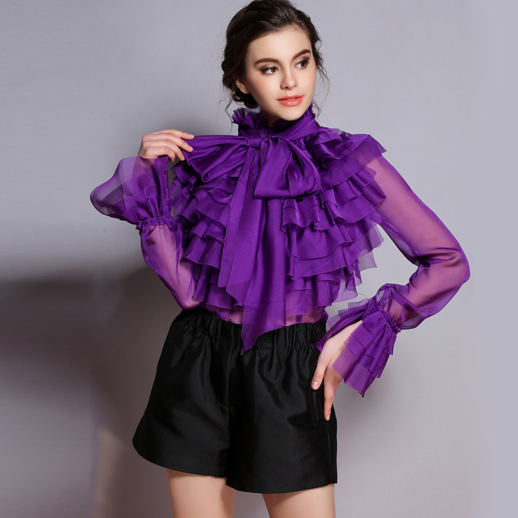 Ruffle Shirt For Women