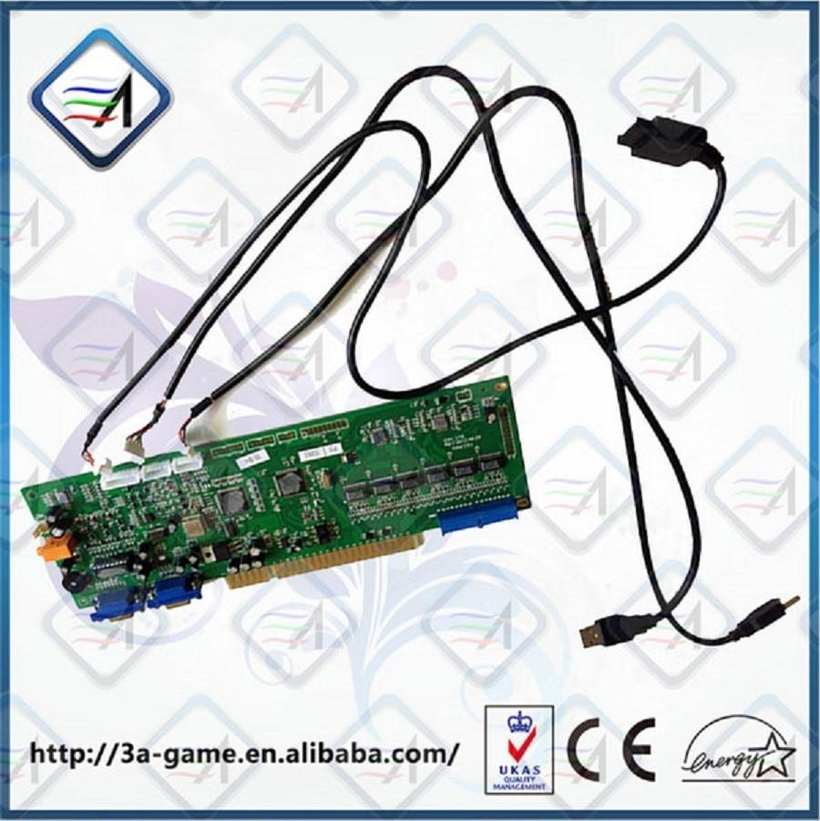 Xbox 360 IO Board Control Arcade Jamma Coin Round PCB For Street ...