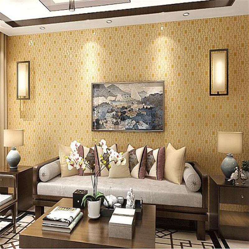 Beibehang High Quality Wallpaper 4d Fine Pressure Modern Chinese Bedroom Living Room Simple Thick Classical Non Woven Wallpaper Aliexpress Com Imall Com