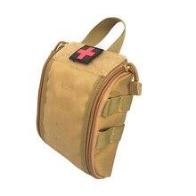 1000D Molle тактическая аптечка для первой помощи, медицинский аксессуар, сумка, поясная сумка, сумка для выживания, медицинская сумка, нейлоновая сумка