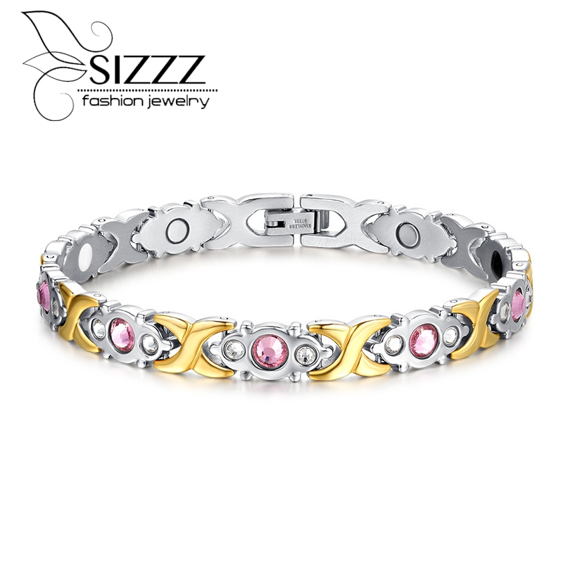 Fashion Bracelet Jewelry Energy Health Magnetic Bracelets for Women Balance Bracelets & Bangles