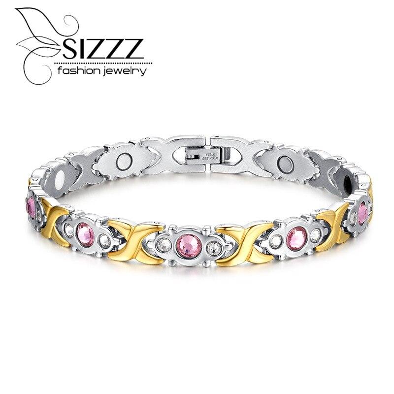 Fashion Bracelet Jewelry Energy Health Magnetic Bracelets for Women Balance Bracelets & Bangles