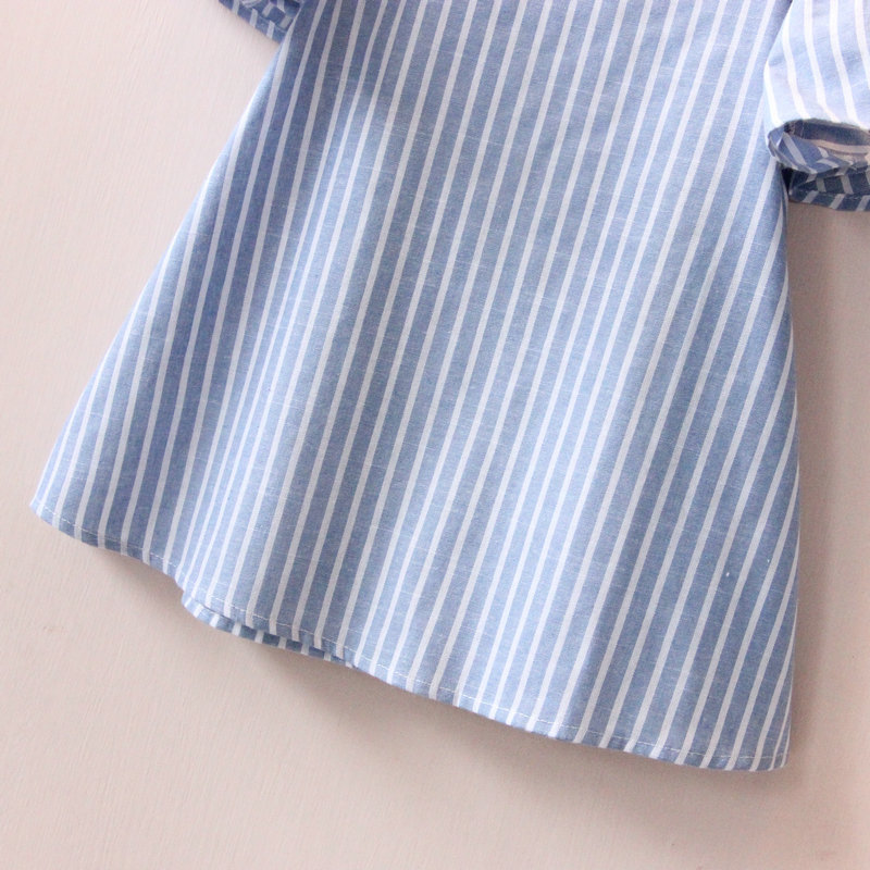 Hurave-Casual-Baby-Girl-Clothes-Summer-Dress-2017-Fashion-Girls-Cotton-Striped-Dresses-Children-Clothes-Girl-Vestidos-Robe-Fille-4