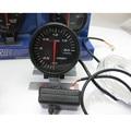 Trubo 60 MM apex * Boost Gauge Boost gauge Cara Negro Rojo y Blanco LED Metro del coche para WRX EVO 8 9 SUPRA MR2 S13 S14 S15 GTR JDM