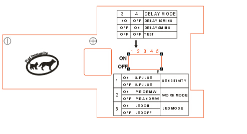 Frete Grátis Mircowave Dual tecnologia PIR motion