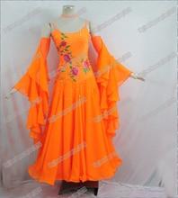 Modern Waltz Tango Ballroom Dance Dress Smooth Ballroom Dress Standard Ballroom Dress Girls B 0034