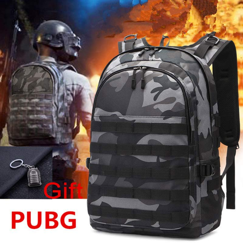 <font><b>Backpack</b></font> Game Playerunknown's Battlegrounds <font><b>PUBG</b></font> Cosplay Level 3 Instructor <font><b>Backpack</b></font> Outdoor Multi-functional Large Capacity image