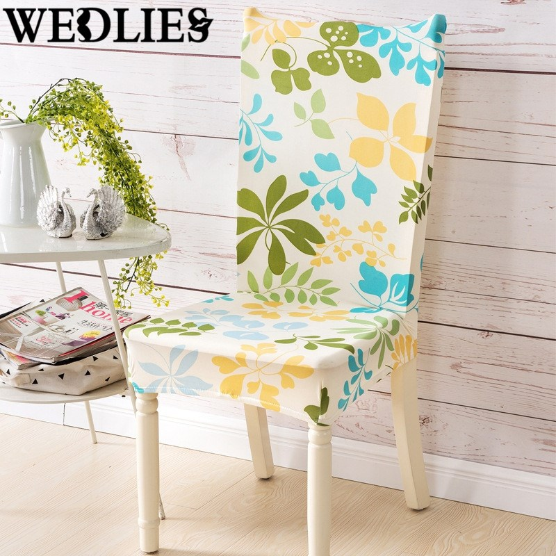 Spandex Polyester Chair Covers Stretch Slipcover Wedding Party Elastic Cover Dining Room Seat