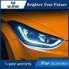 Vland LED Headlight For Hyundai Elantra 2012 2013 2014 2015 Head LampDRL Lens Double Beam H7