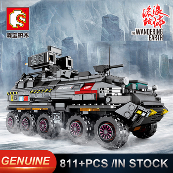 New Sembo Military Tank Figther Trucks Comptible LeSet Technic Building Model Blocks Bricks Toys Birthday Gifts Minfigures