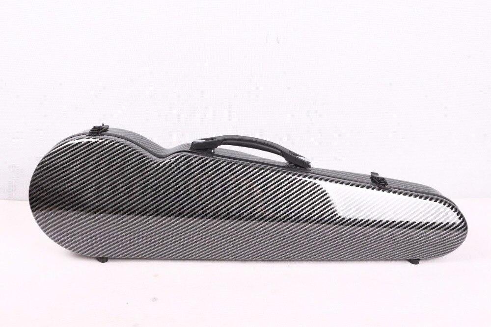 Black violin case 4/4 carbon fiber Composite materials High streng black violin case 4 4 carbon fiber composite materials high streng