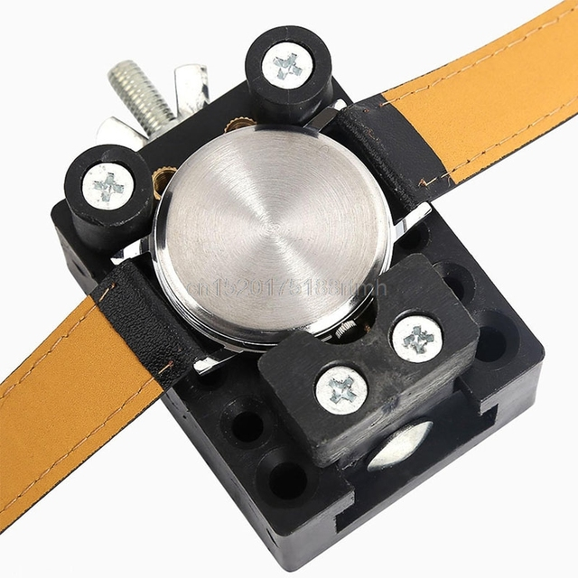 Free delivery Watch Back Case Cover Opener Remover Holder Adjustable Location Re