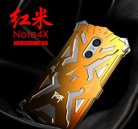 Simon Case For Xiaomi Redmi Note 4 Note 4X THOR IRONMAN Shockproof Metal Back Cover Frame