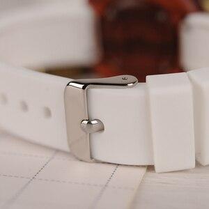 Image 5 - Relogio Feminino Bobo Vogel Hout Vrouwen Horloges Siliconen Band Quartz Horloges In Houten Geschenkdoos Reloj Mujer Drop Shipping