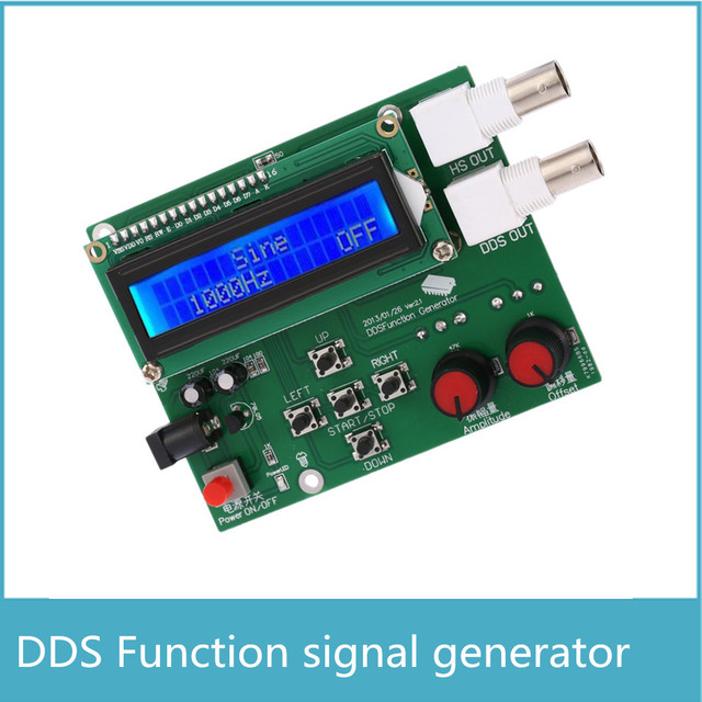 DDS Function Generator DDS low frequency Signal Generator 1Hz-65534Hz, sine wave, Fang Bo, triangle wave, Ju Chibo