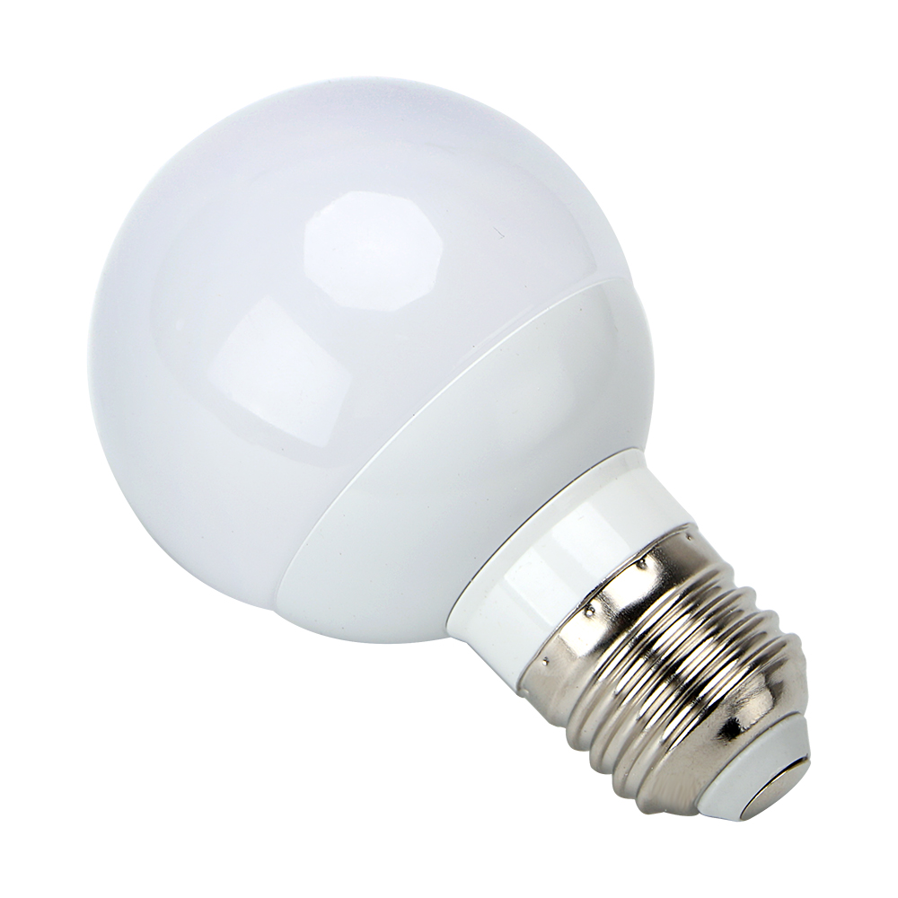 Intelligent Lamps Emergency Light Energy Saving LED Bulb AC 85-265V 3W White lamp E27 G60 Outdoor Lighting