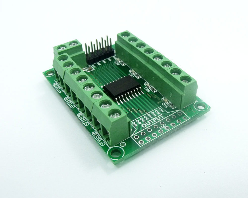 DRV-2803 8CH 50V 500mA Darlington nizovi motornih releja LED - Pametna elektronika - Foto 3