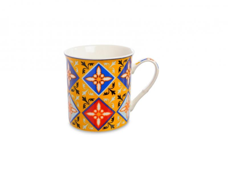 Mug Art East, Vintage decorative pattern, 360 ml цена 2017