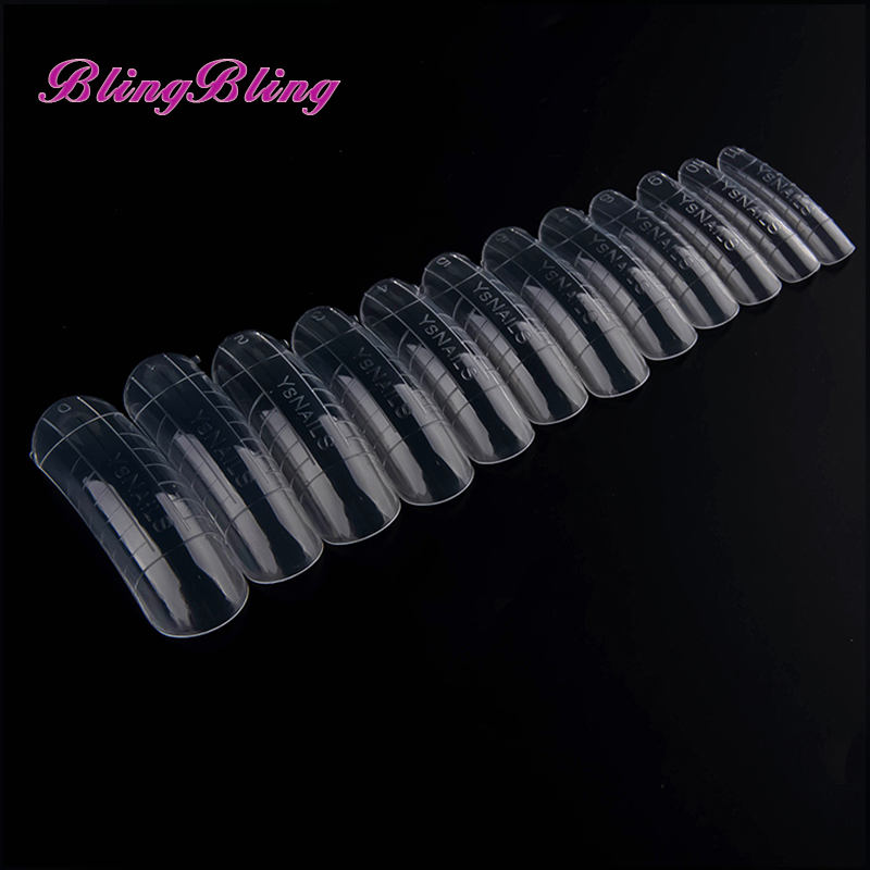 312pcs Fake Nails Molds Dual System Form False Nail Clear Transparent Easy Form Nail Art Tips Acrylic Gel For Nails Manicure stylish 24 pcs smile expression pattern nail art false nails page 1