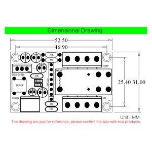 Image 5 - CIRMECH 12 24V UPC1237 bordo di protezione degli altoparlanti loundspeaker bordo di protezione kit FAI DA TE ritardo di Avvio DC monitor